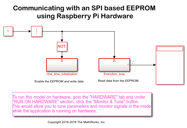 Communicating with an EEPROM - MATLAB & Simulink Example