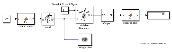model variable attenuator