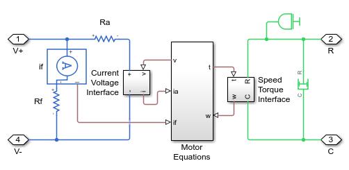 shunt motor matlab simulink rh mathworks com