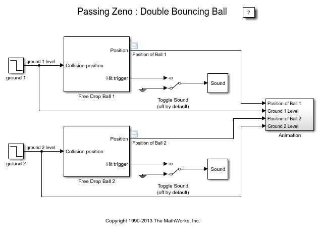 bouncing balls animation