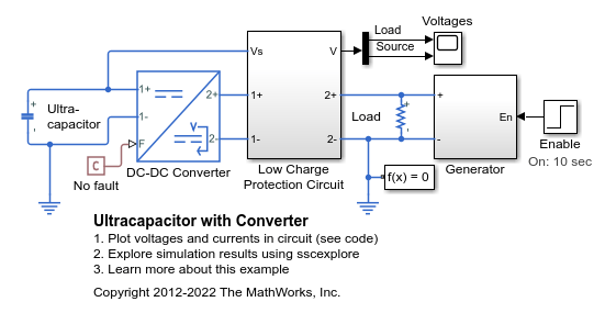 Behavioral model of power converter - MATLAB