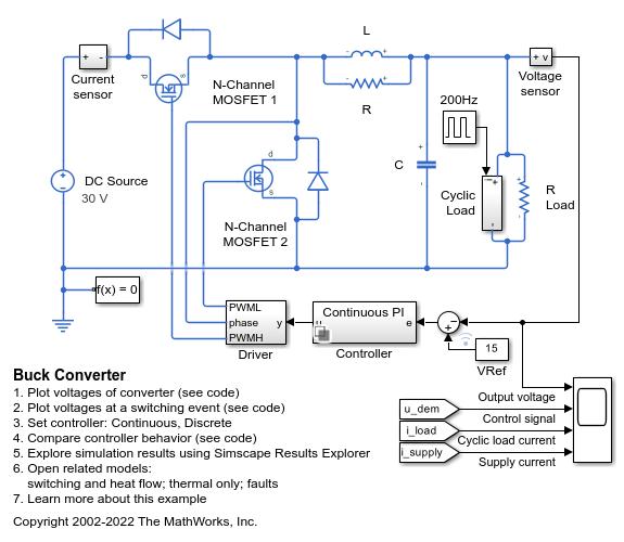 Voltage Regulation and Converters - MATLAB & Simulink