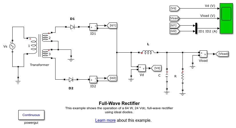 Power Electronics - MATLAB & Simulink