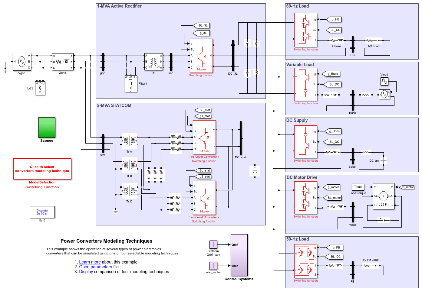 Power Electronics - MATLAB & Simulink