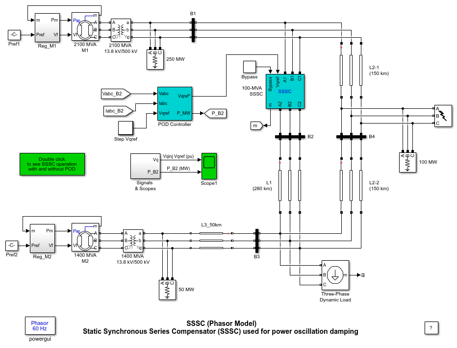 Sssc Phasor Model Matlab Amp Simulink