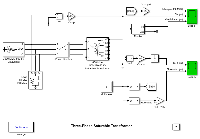 Electrical Sources and Elements - MATLAB & Simulink on ct transformer connection diagram, step up transformer diagram, 3 phase voltage, 3 phase pad-mounted transformer, 3 phase y diagram, 3 phase power metering 2 transformer, current transformer diagram, transformer vector group diagram, single phase transformer diagram, 3 phase step down transformer, auto transformer diagram, 3 phase transformer formulas, power pole transformer diagram, 3 phase angle meter, 3 phase wiring schematic, 3 phase 480v distribution panel, 3 phase phasor diagram, electrical transformer diagram, 3 phase power diagram, 3 phase wye wiring,