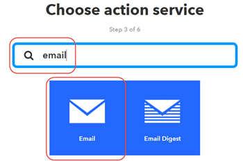 Analyze Channel Data to Send Email Notification from IFTTT