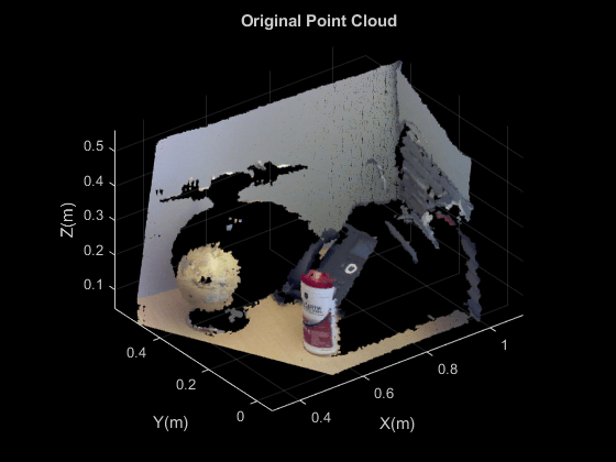 Detect Multiple Planes from Point Cloud - MATLAB & Simulink