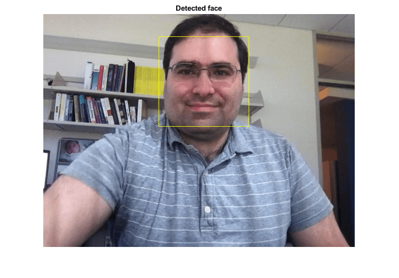 Face Detection and Tracking Using the KLT Algorithm - MATLAB
