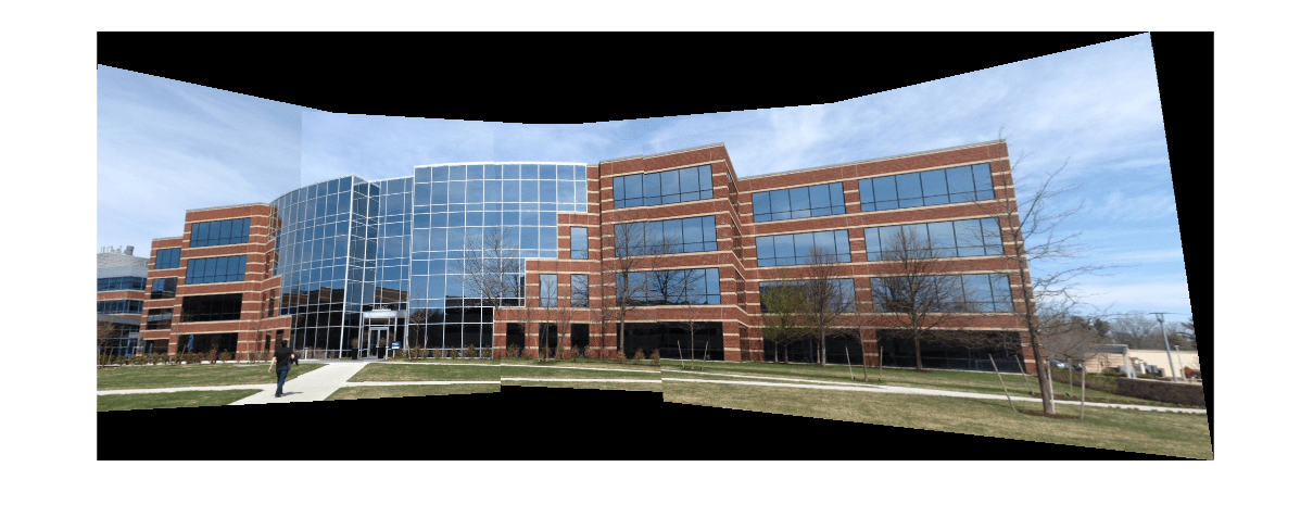 Feature Based Panoramic Image Stitching - MATLAB & Simulink