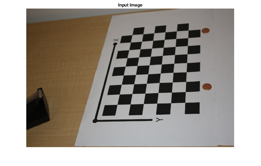 Measuring Planar Objects with a Calibrated Camera - MATLAB