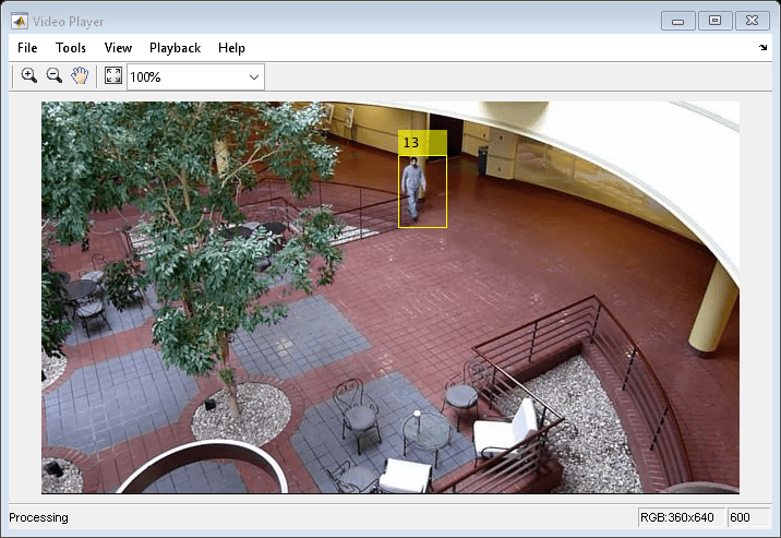 Motion-Based Multiple Object Tracking - MATLAB & Simulink