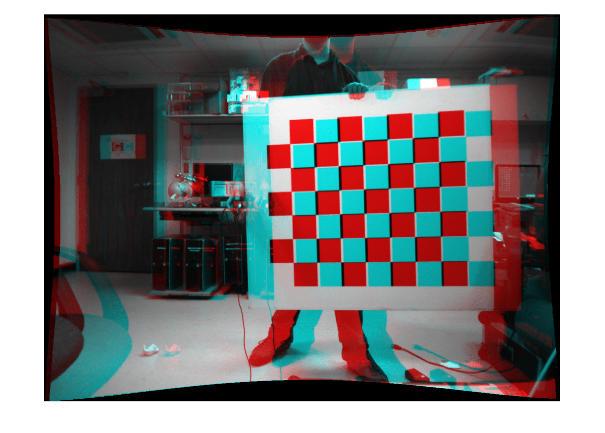 Rectify a pair of stereo images - MATLAB rectifyStereoImages