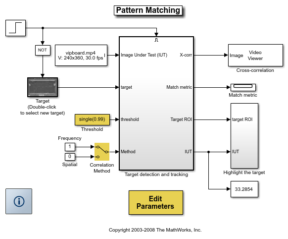 Pattern matching matlab simulink pattern matching results maxwellsz