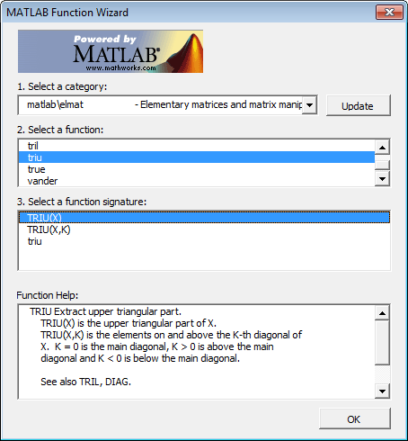 matlab help function If r fails to connect to matlab, make sure to try the example in help(matlab) first   add a function, say, matlab$createshortcut() which creates a windows.