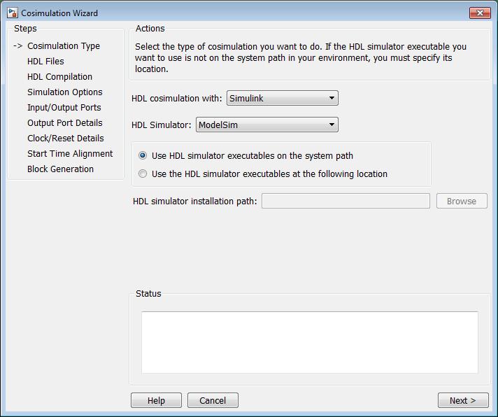 Import HDL Code for HDL Cosimulation Block - MATLAB & Simulink