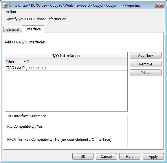 FPGA Board Editor - MATLAB & Simulink