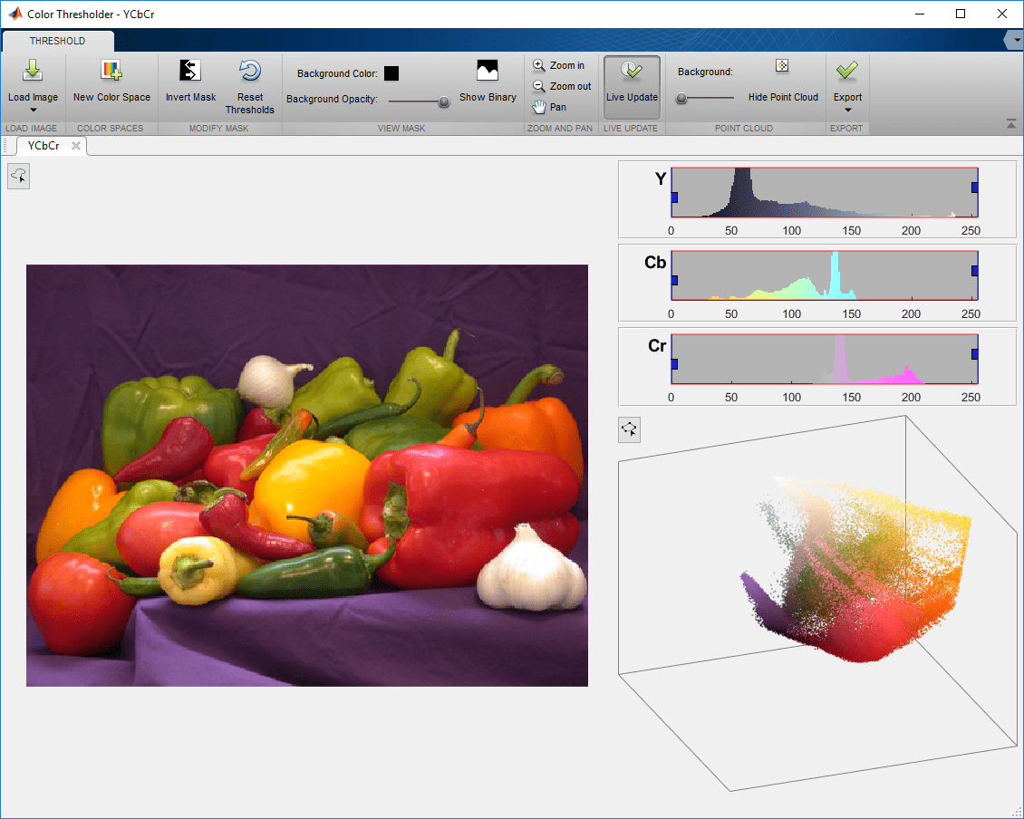 Image Segmentation Using the Color Thresholder App - MATLAB