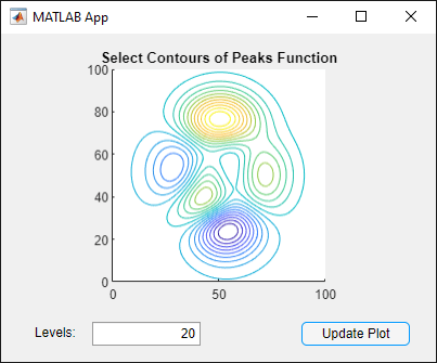 Use One Callback for Multiple App Designer Components - MATLAB