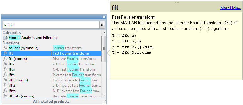 writing functions in matlab