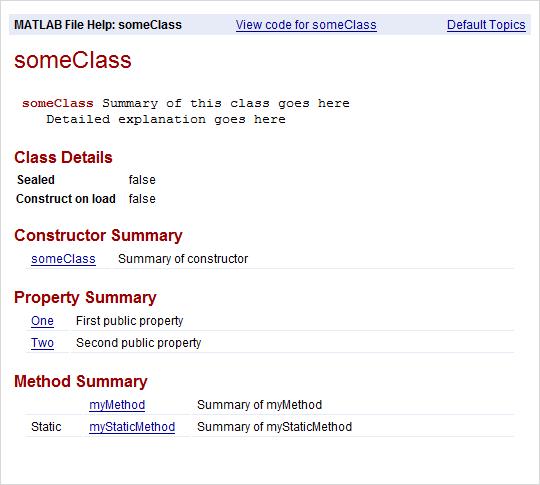 Fundamental matlab classes matlab & simulink.