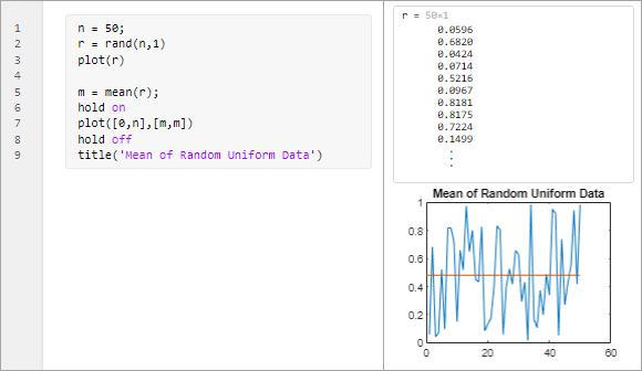 Debug Code in the Live Editor - MATLAB & Simulink