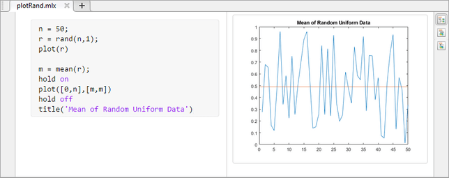 Create Live Scripts in the Live Editor - MATLAB & Simulink