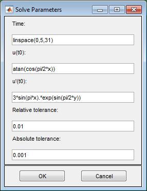 Wave Equation on Square Domain: PDE Modeler App - MATLAB & Simulink