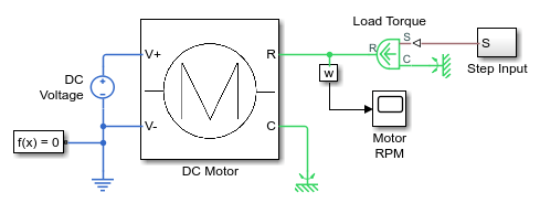 Evaluating Performance of a DC Motor - MATLAB & Simulink