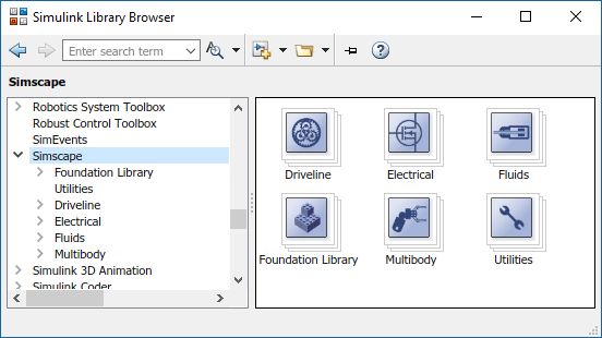 Simscape Block Libraries - MATLAB & Simulink