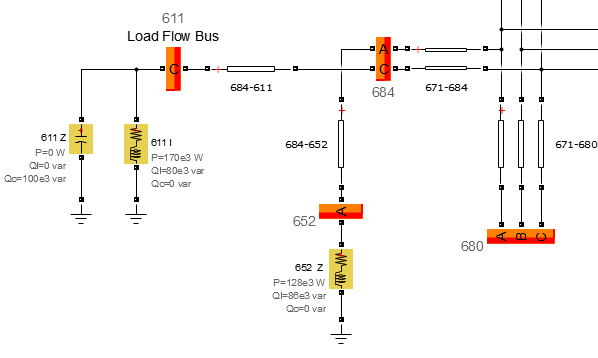 Identify and parameterize load flow bus - Simulink
