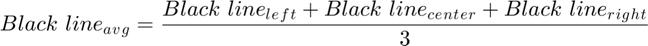 $$Black\ line{_a}{_v}{_g} = \frac{Black\ line{_l}{_e}{_f}{_t} + Black\ line{_c}{_e}{_n}{_t}{_e}{_r} + Black\ line{_r}{_i}{_g}{_h}{_t}}{3}$$