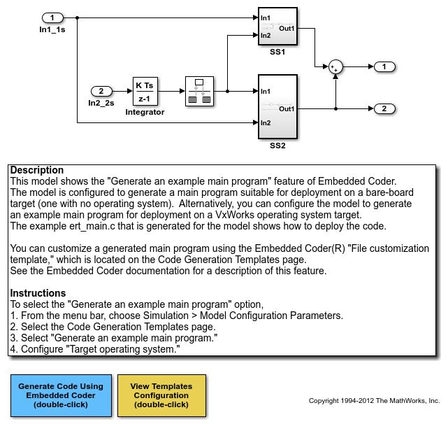Generateamainprogramfordeploymenttobareboardtargetexample_01