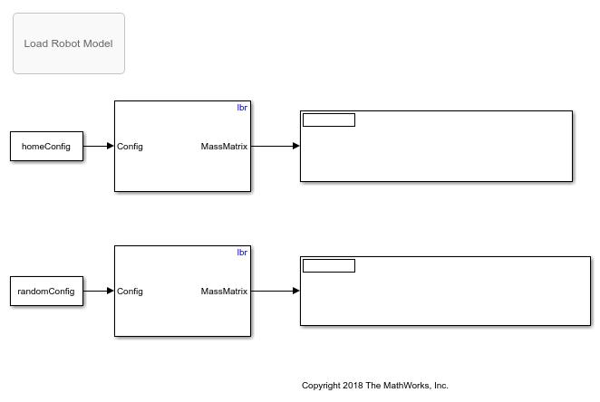 Getmassmatrixformanipulatorsinsimulinkexample_01