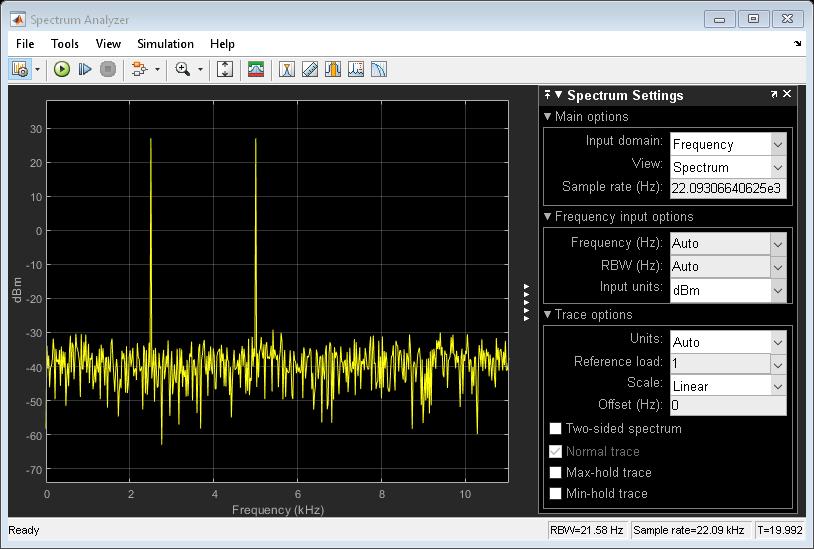 Displayfrequencyinputonspectrumanalyzerexample_02