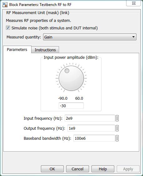 Using RF Measurement Testbench - MATLAB & Simulink