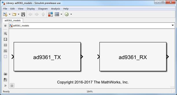 AD9361 Models - MATLAB & Simulink