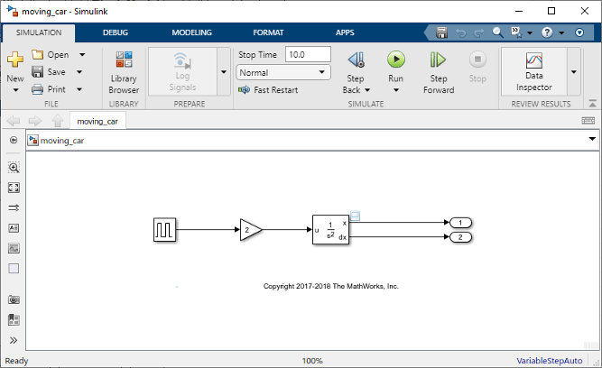 Create a Simple Model - MATLAB & Simulink
