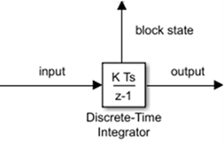 Perform discrete-time integration or accumulation of signal - Simulink