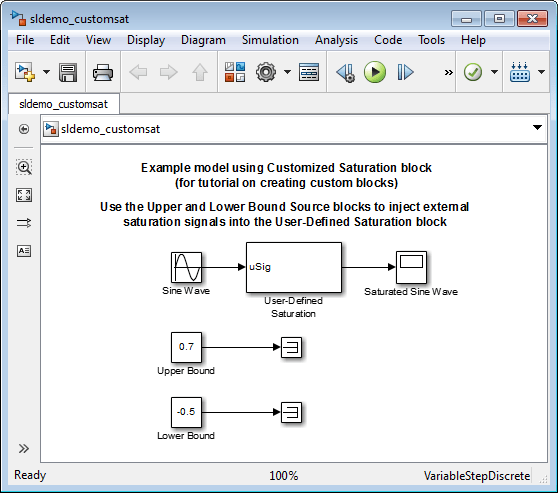 Design and Create a Custom Block - MATLAB & Simulink