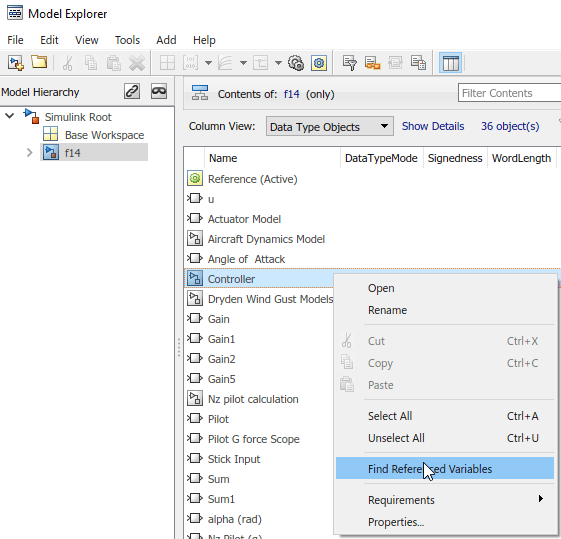 Edit and Manage Workspace Variables by Using Model Explorer
