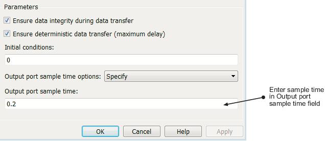 Specify Sample Time - MATLAB & Simulink