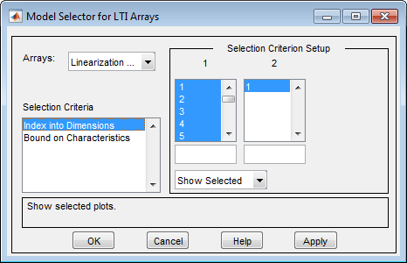 Analyze Batch Linearization Results In Linear Analysis