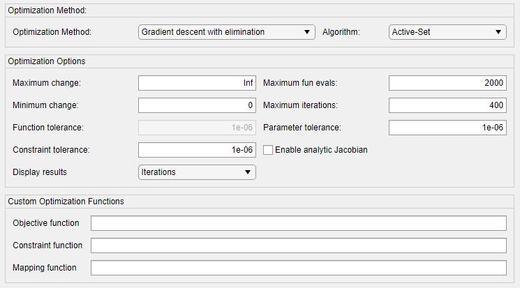 Change Operating Point Search Optimization Settings - MATLAB & Simulink
