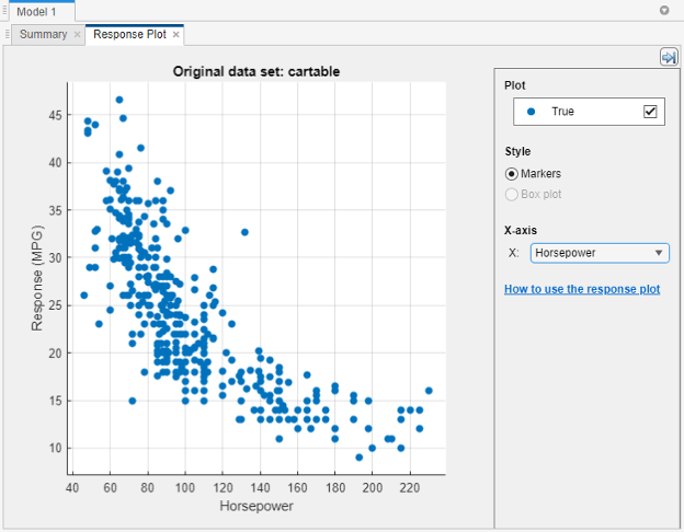 Train Regression Trees Using Regression Learner App ...