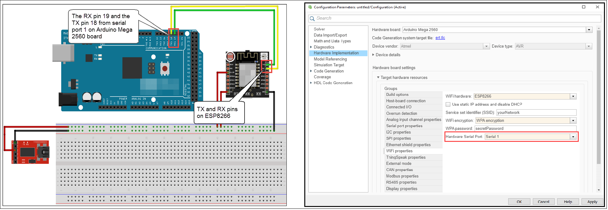 Unable to Assign IP Address to an Arduino Board Connected to