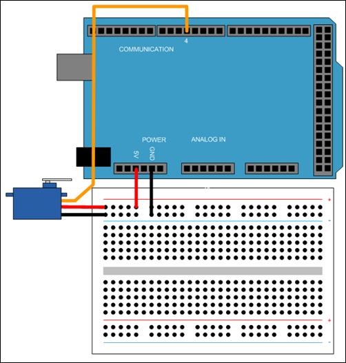 Measure Servo Motor Shaft Angle Using a Device Driver Block
