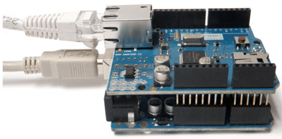 Connect Arduino Ethernet Shield to Arduino Hardware - MATLAB