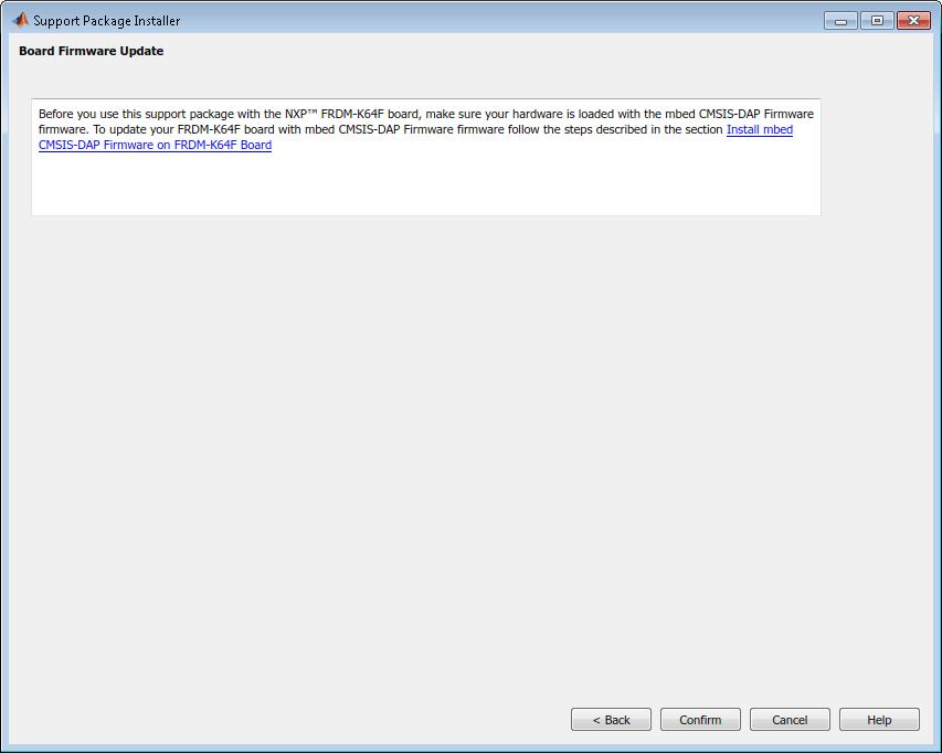 Install Support for NXP FRDM-K64F Board - MATLAB & Simulink