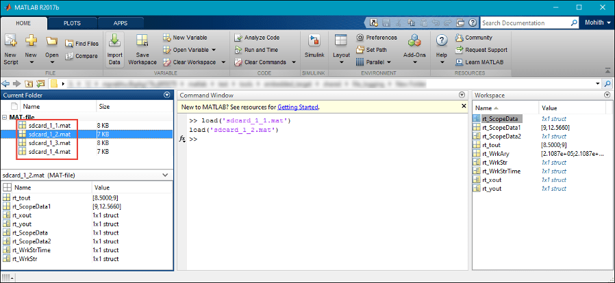 Import MAT-Files into MATLAB - MATLAB & Simulink